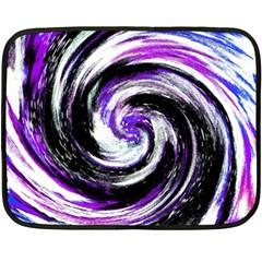 Canvas Acrylic Digital Design Double Sided Fleece Blanket (mini)  by Simbadda