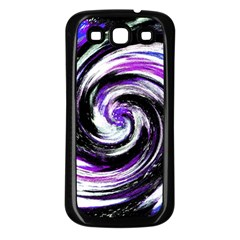 Canvas Acrylic Digital Design Samsung Galaxy S3 Back Case (black) by Simbadda