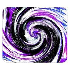 Canvas Acrylic Digital Design Double Sided Flano Blanket (small)  by Simbadda