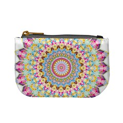 Kaleidoscope Star Love Flower Color Rainbow Mini Coin Purses by Alisyart