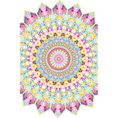 Kaleidoscope Star Love Flower Color Rainbow 5 5  X 8 5  Notebooks by Alisyart