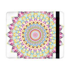 Kaleidoscope Star Love Flower Color Rainbow Samsung Galaxy Tab Pro 8 4  Flip Case by Alisyart