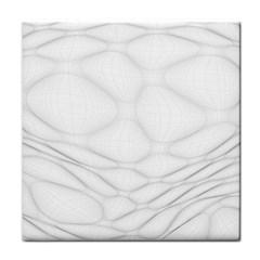 Line Stone Grey Circle Tile Coasters by Alisyart