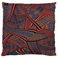 Random Inspiration Large Flano Cushion Case (one Side) by Alisyart