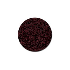 Random Pink Black Red Golf Ball Marker by Alisyart