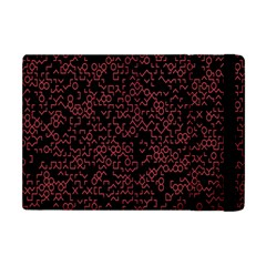 Random Pink Black Red Apple Ipad Mini Flip Case by Alisyart