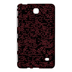 Random Pink Black Red Samsung Galaxy Tab 4 (8 ) Hardshell Case  by Alisyart