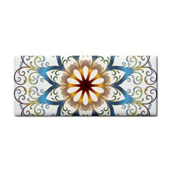 Prismatic Flower Floral Star Gold Green Purple Orange Cosmetic Storage Cases by Alisyart