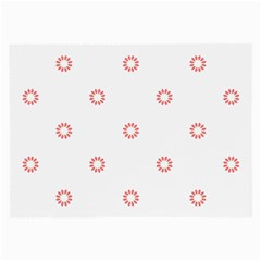 Scrapbook Paper Flower Large Glasses Cloth by Alisyart