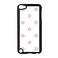 Scrapbook Paper Flower Apple Ipod Touch 5 Case (black) by Alisyart