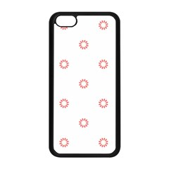 Scrapbook Paper Flower Apple Iphone 5c Seamless Case (black) by Alisyart