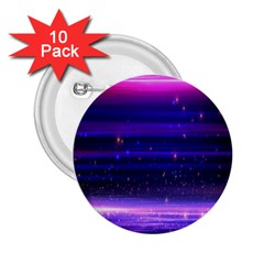 Space Planet Pink Blue Purple 2 25  Buttons (10 Pack)  by Alisyart