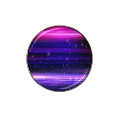 Space Planet Pink Blue Purple Hat Clip Ball Marker by Alisyart