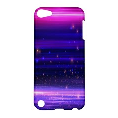 Space Planet Pink Blue Purple Apple Ipod Touch 5 Hardshell Case by Alisyart