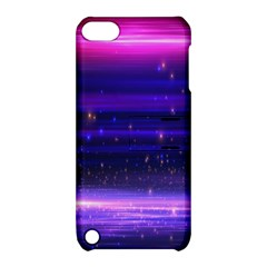 Space Planet Pink Blue Purple Apple Ipod Touch 5 Hardshell Case With Stand by Alisyart