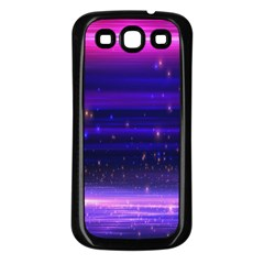 Space Planet Pink Blue Purple Samsung Galaxy S3 Back Case (black) by Alisyart