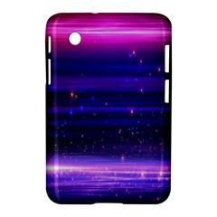 Space Planet Pink Blue Purple Samsung Galaxy Tab 2 (7 ) P3100 Hardshell Case  by Alisyart