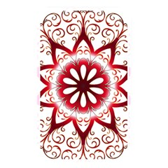 Prismatic Flower Floral Star Gold Red Orange Memory Card Reader by Alisyart