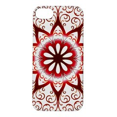 Prismatic Flower Floral Star Gold Red Orange Apple Iphone 5s/ Se Hardshell Case by Alisyart