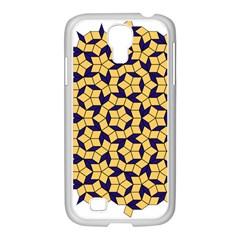 Star Orange Blue Samsung Galaxy S4 I9500/ I9505 Case (white) by Alisyart