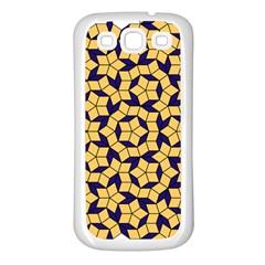 Star Orange Blue Samsung Galaxy S3 Back Case (white) by Alisyart