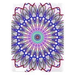 Prismatic Line Star Flower Rainbow Apple Ipad 3/4 Hardshell Case by Alisyart