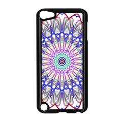 Prismatic Line Star Flower Rainbow Apple Ipod Touch 5 Case (black) by Alisyart
