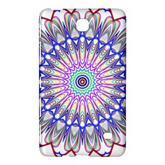 Prismatic Line Star Flower Rainbow Samsung Galaxy Tab 4 (8 ) Hardshell Case  by Alisyart
