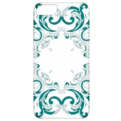 Vintage Floral Style Frame Apple Iphone 5 Classic Hardshell Case by Alisyart
