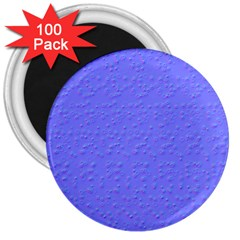 Ripples Blue Space 3  Magnets (100 Pack) by Alisyart
