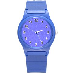 Ripples Blue Space Round Plastic Sport Watch (s) by Alisyart