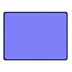 Ripples Blue Space Double Sided Fleece Blanket (small)  by Alisyart