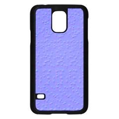 Ripples Blue Space Samsung Galaxy S5 Case (black) by Alisyart