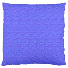 Ripples Blue Space Large Flano Cushion Case (two Sides) by Alisyart