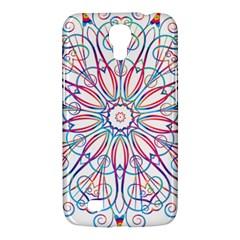 Frame Star Rainbow Love Heart Gold Purple Blue Samsung Galaxy Mega 6 3  I9200 Hardshell Case by Alisyart