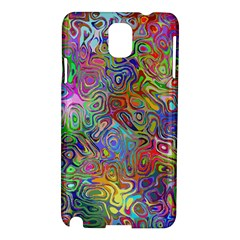 Glass Rainbow Color Samsung Galaxy Note 3 N9005 Hardshell Case by Alisyart