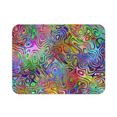 Glass Rainbow Color Double Sided Flano Blanket (mini)  by Alisyart