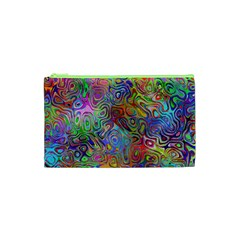 Glass Rainbow Color Cosmetic Bag (xs) by Alisyart