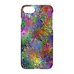 Glass Rainbow Color Apple Iphone 7 Hardshell Case by Alisyart