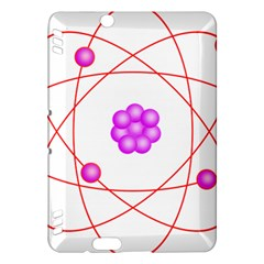 Atom Physical Chemistry Line Red Purple Space Kindle Fire Hdx Hardshell Case by Alisyart
