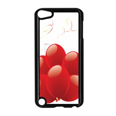 Balloon Partty Red Apple Ipod Touch 5 Case (black) by Alisyart
