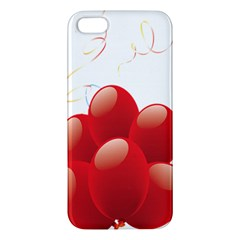 Balloon Partty Red Iphone 5s/ Se Premium Hardshell Case by Alisyart
