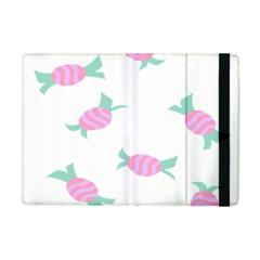 Candy Pink Blue Sweet Apple Ipad Mini Flip Case by Alisyart