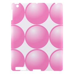 Circle Pink Apple Ipad 3/4 Hardshell Case by Alisyart
