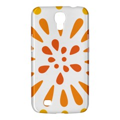 Circle Orange Samsung Galaxy Mega 6 3  I9200 Hardshell Case by Alisyart