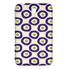 Circle Purple Green White Samsung Galaxy Tab 3 (7 ) P3200 Hardshell Case  by Alisyart