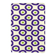 Circle Purple Green White Samsung Galaxy Tab Pro 12 2 Hardshell Case by Alisyart