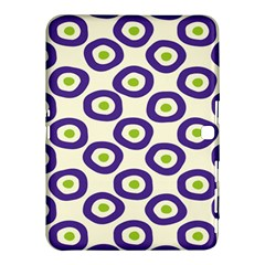 Circle Purple Green White Samsung Galaxy Tab 4 (10 1 ) Hardshell Case  by Alisyart