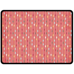 Circle Red Freepapers Paper Fleece Blanket (large)  by Alisyart