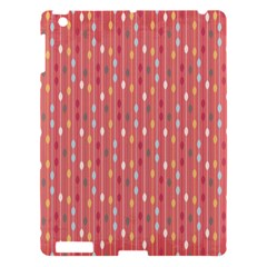 Circle Red Freepapers Paper Apple Ipad 3/4 Hardshell Case by Alisyart